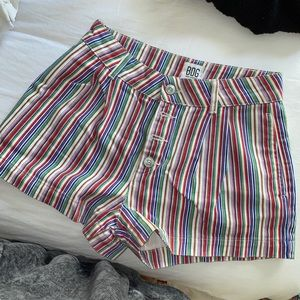 UO Striped Shorts